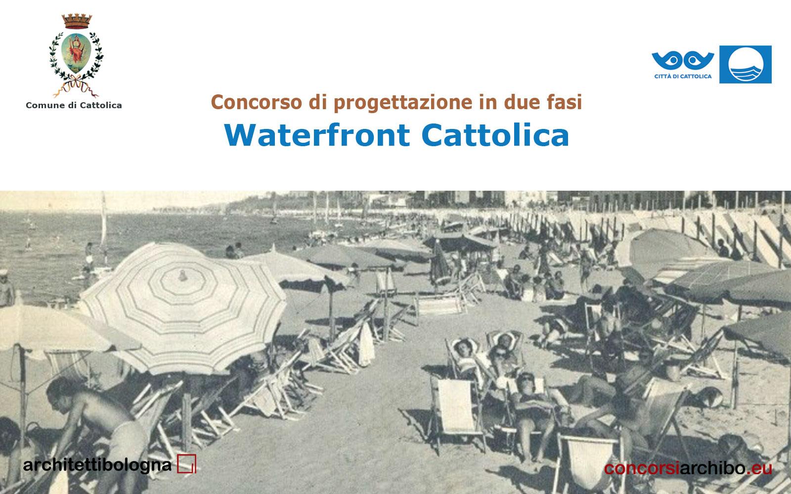 Comune Di Arcugnano Concorsi pubblicato il concorso waterfront cattolica sulla