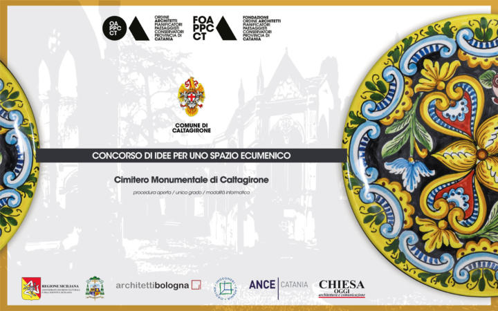 Pubblicato il concorso di idee Uno spazio ecumenico per il Cimitero di Caltagirone sulla piattaforma concorsiarchibo.eu
