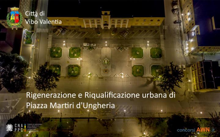 Pubblicato il concorso Progettazione dell'intervento di rigenerazione e riqualificazione urbana di Piazza Martiri d'Ungheria sulla piattaforma concorsiawn.it